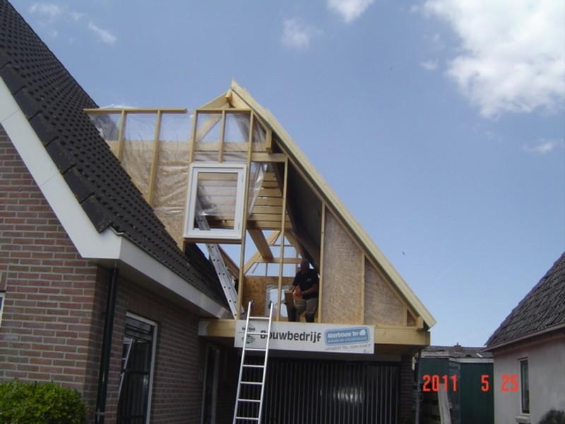 Dakopbouw Op Garage Akerbouw